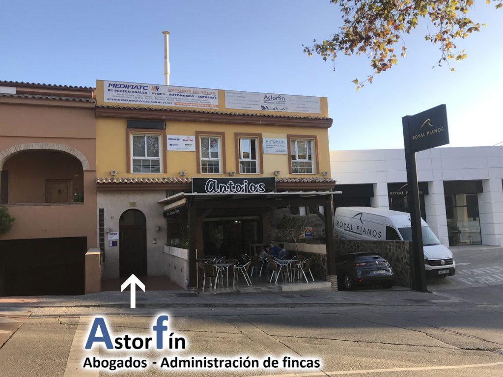 Localización de Astorfin